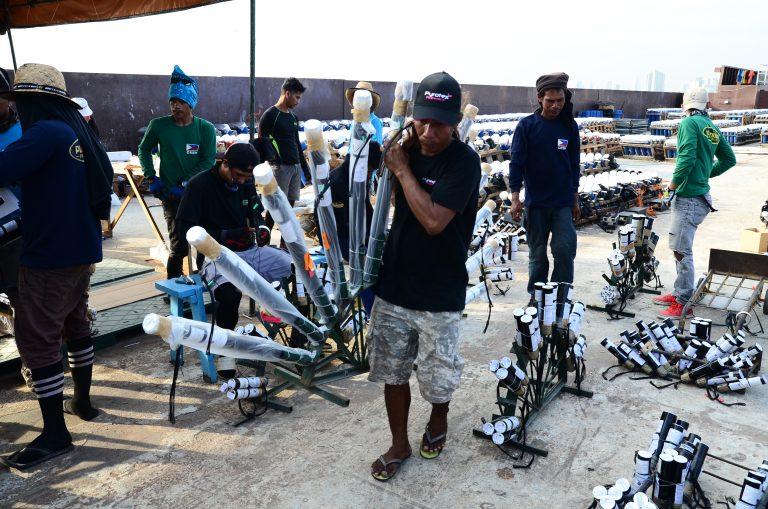 Pyrotex Fireworx Set-up PIPC 2018 (145)